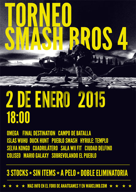 Torneo Smash Bros 4