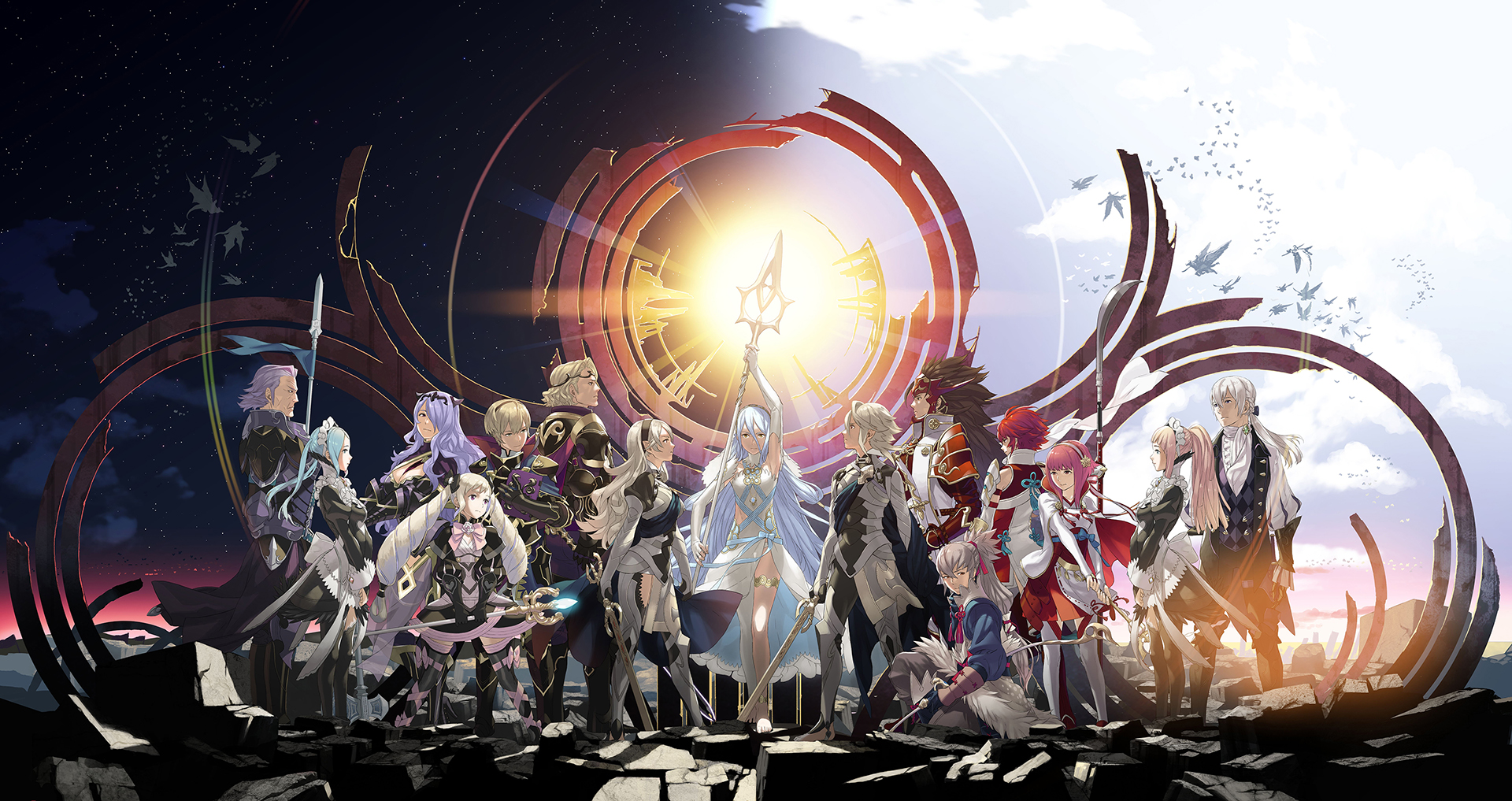 Fire Emblem Fates y Tokyo Mirage Sessions #FE (Audioanálisis) <br> <span style='color:#f96d5a;font-size:14px;font-weight: lighter;'>Hello Japan! Konichiwa World!</span>